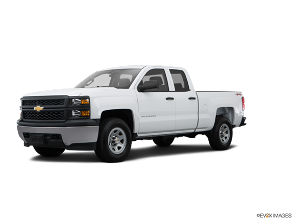 2015 Chevrolet Silverado 1500 Double Cab Work Truck  Photo