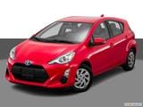 2016 Toyota Prius c Front angle view photo