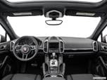 2017 Porsche Cayenne Dashboard, center console, gear shifter view photo