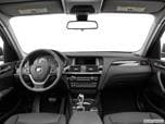 2016 BMW X3 Dashboard, center console, gear shifter view photo