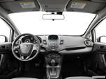2017 Ford Fiesta Dashboard, center console, gear shifter view photo