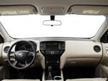 2016 Nissan Pathfinder Dashboard, center console, gear shifter view photo