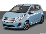 2016 Chevrolet Spark EV Front angle view photo