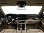 2017 BMW 7 Series Dashboard, center console, gear shifter view photo
