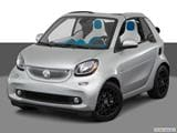 2017 smart fortwo cabrio Front angle view photo