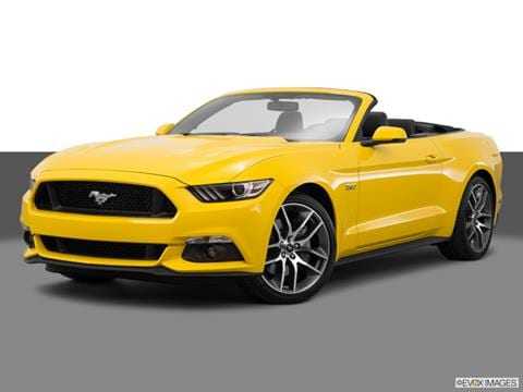 2015 Ford Mustang 2-door GT Premium  Convertible Front angle medium view photo