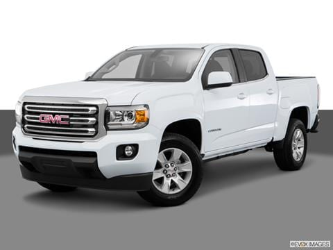gmc canyon crew cab pricing ratings reviews kelley blue book. Black Bedroom Furniture Sets. Home Design Ideas