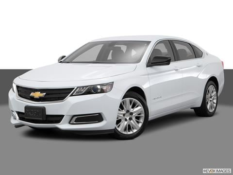 2017 Chevrolet Impala. 25 MPG Combined