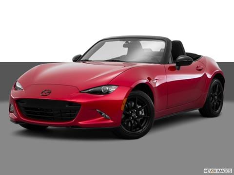 2017 Mazda MX 5 Miata 2 Door Sport Convertible Front Angle Medium View Photo