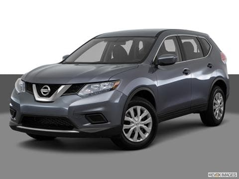 2016 Nissan Rogue 4-door S Sport Utility Front angle medium view photo