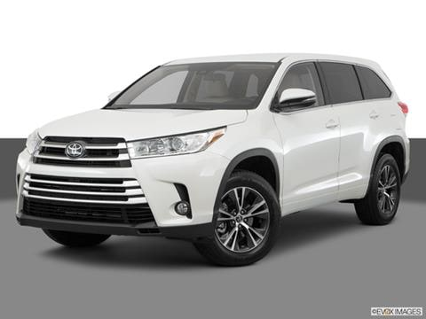 2019 Toyota Highlander Pricing Ratings Reviews Kelley Blue Book