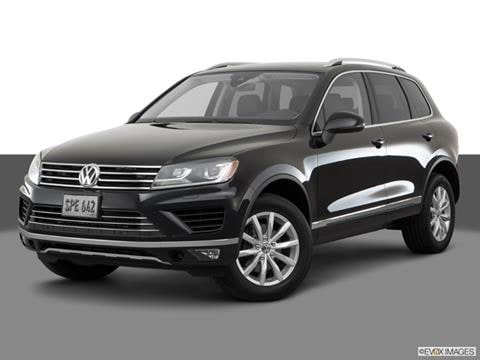 2017 Volkswagen Touareg Pricing Ratings Amp Reviews