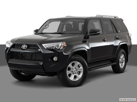 All Black 4runner >> 2018 Toyota 4runner Pricing Ratings Reviews Kelley Blue Book