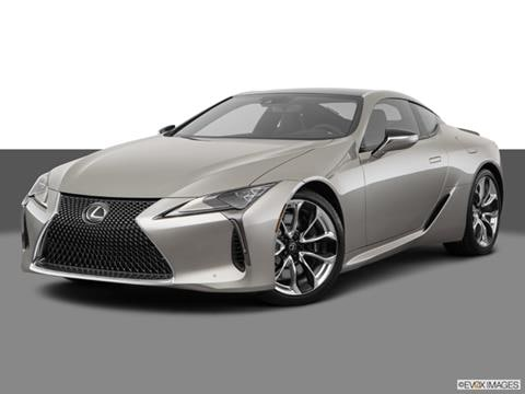 2018 Lexus LC 2-door LC 500  Coupe Front angle medium view photo