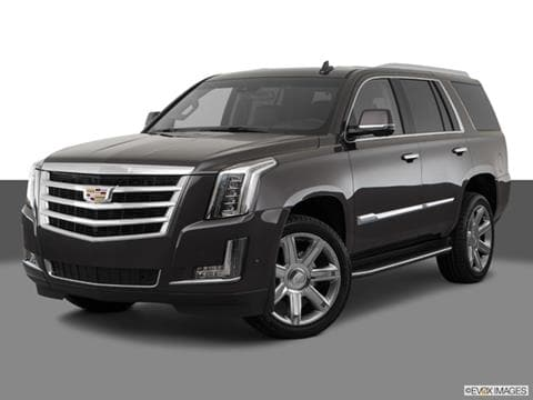 2018 Cadillac Escalade 4-door   Sport Utility Front angle medium view photo