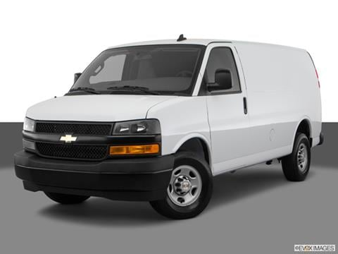 2018 Chevrolet Express 2500 Cargo Pricing Ratings Reviews