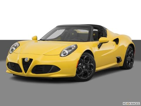 2018 Alfa Romeo 4c Spider Pricing Ratings Reviews Kelley Blue
