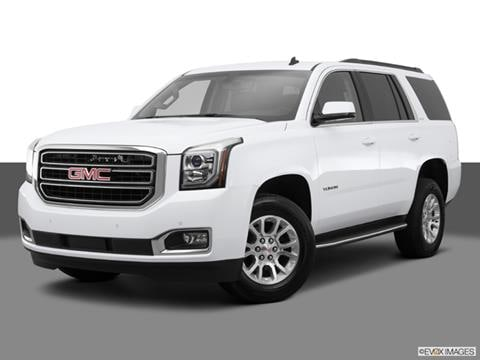 2015 GMC Yukon 4-door SLE  Sport Utility Front angle medium view photo