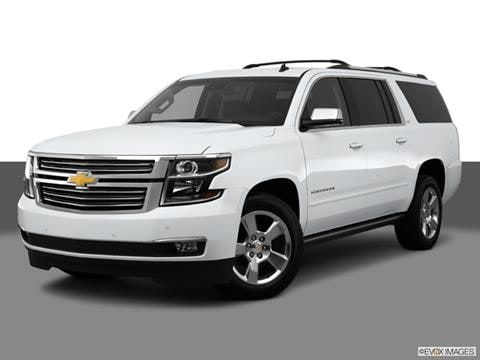 2015 Chevrolet Suburban 4-door LTZ  Sport Utility Front angle medium view photo