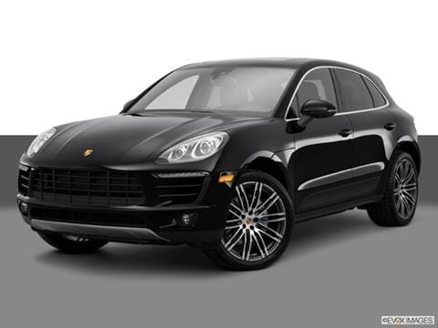 2015 Porsche Macan 4-door S  Sport Utility Front angle medium view photo
