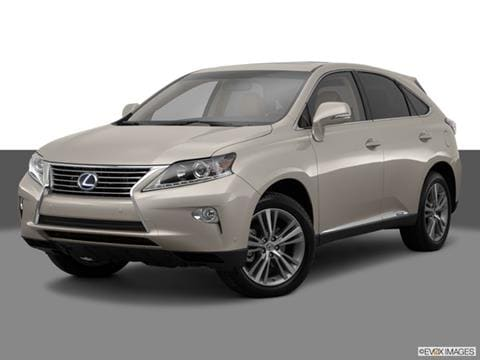 2015 Lexus RX 4-door RX 450h  Sport Utility Front angle medium view photo