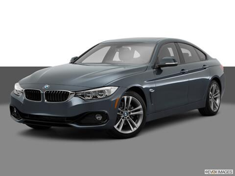 2015 BMW 4 Series 4-door 428i Gran Coupe  Coupe Front angle medium view photo