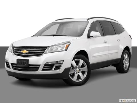 2015 Chevrolet Traverse 4-door LTZ  Sport Utility Front angle medium view photo