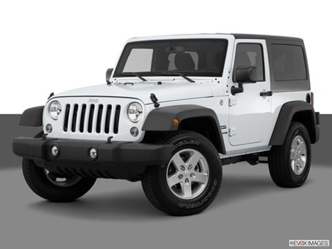 2015 Jeep Wrangler 2-door Sport  Sport Utility Front angle medium view photo