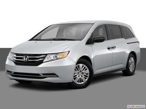 2015 Honda Odyssey 4-door LX  Van Front angle medium view photo
