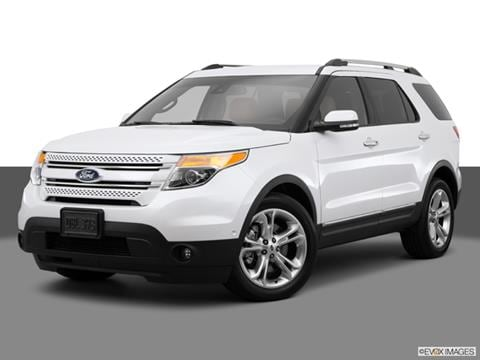 2015 Ford Explorer 4-door Limited  Sport Utility Front angle medium view photo
