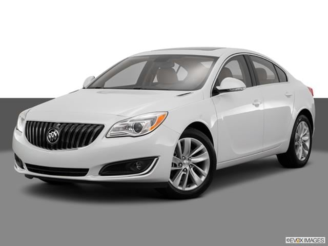 2016 Buick Regal Front Angle Medium View Photo