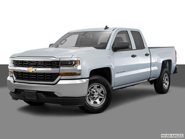 2017 Chevrolet Silverado 1500 Double Cab Front Angle Medium View Photo