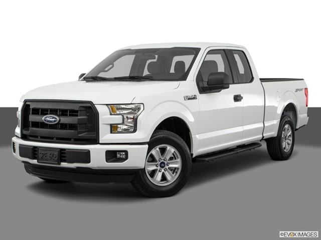 2017 Ford F150 Super Cab Front Angle Medium View Photo