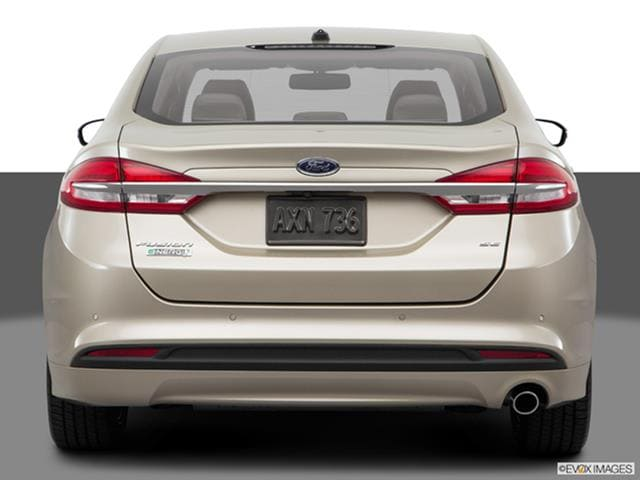 2017 Ford Fusion Energi rear