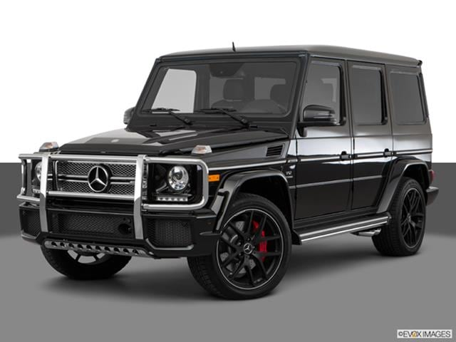 2017 mercedes benz g class front angle medium view photo