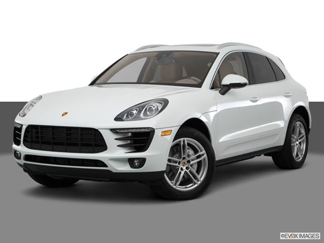 2017 Porsche Macan Front Angle Medium View Photo