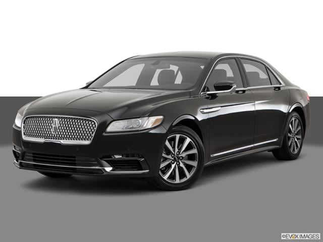 2017 Lincoln Continental Front Angle Medium View Photo