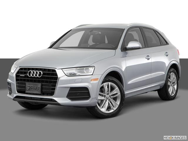 2017 Audi Q3 Front Angle Medium View Photo