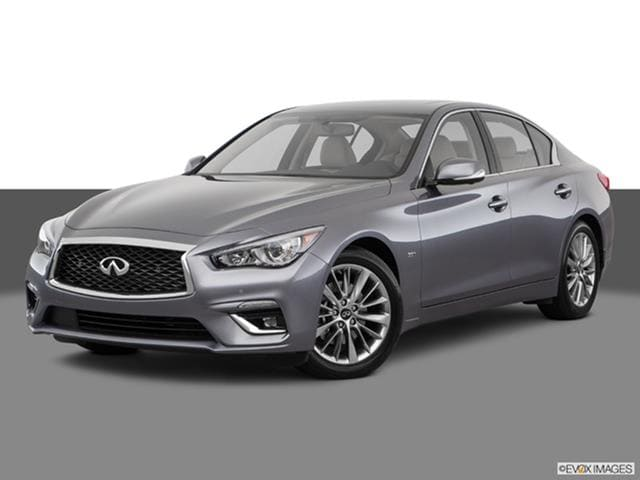 2018 infiniti sedan. Plain 2018 2018 INFINITI Q50  Front Angle Medium View Photo And Infiniti Sedan