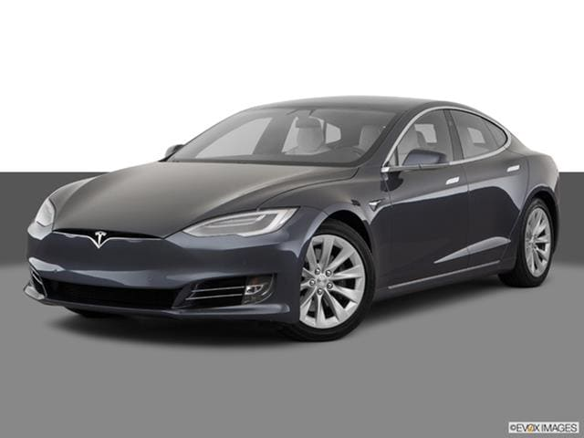 2017 Tesla Model S Front Angle Medium View Photo