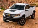 2018 Chevrolet Colorado Extended Cab ZR2  Pickup