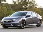 2018 New Honda Civic EX Sedan