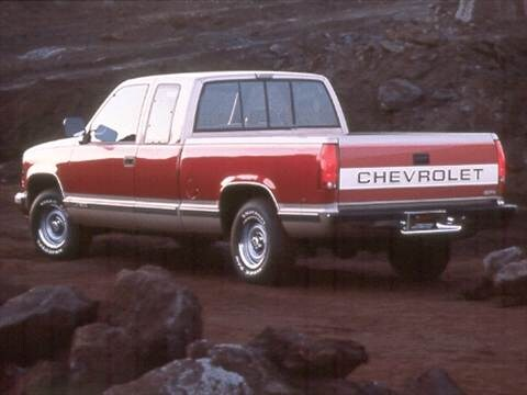 1992 chevrolet 2500 extended cab Exterior