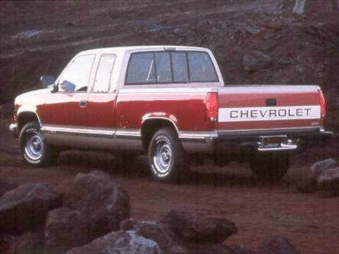 1992 chevrolet 3500 extended cab Exterior