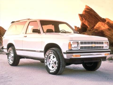 1992 chevrolet s10 blazer pricing ratings reviews kelley blue 1992 chevrolet s10 blazer publicscrutiny Image collections