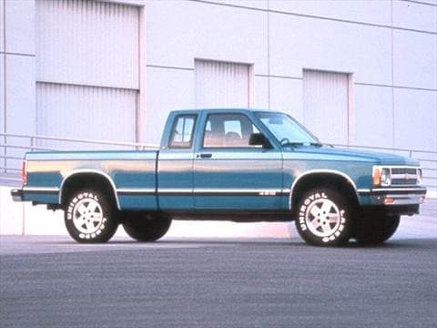 1992 Chevrolet S10 Extended Cab 17 Mpg Combined