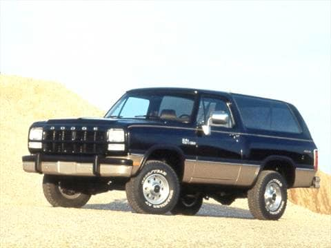 Dodge ramcharger 1992