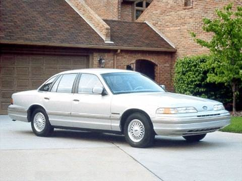 1992 ford crown victoria Exterior