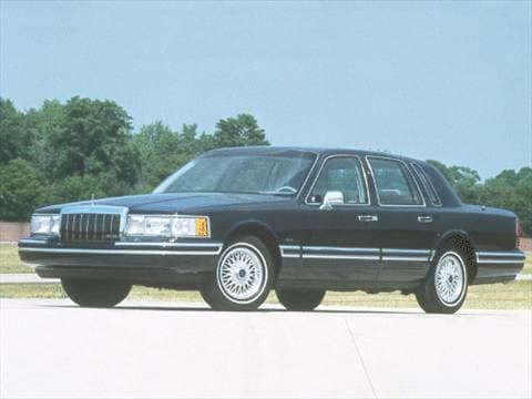 1992 Lincoln Town Car Pricing Ratings Reviews Kelley Blue Book