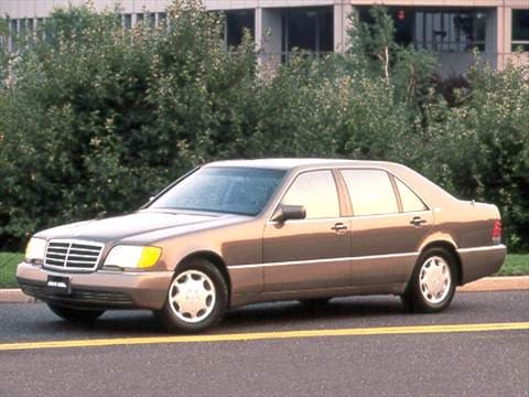 1992 mercedes benz 600 sel pricing ratings reviews for Mercedes benz blue book